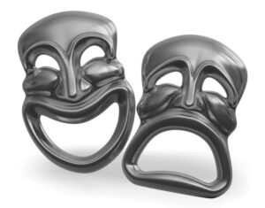 The Masks of Comedy and Tragedy